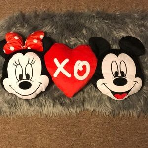 Mickey And Minnie Mouse Disney Pillow